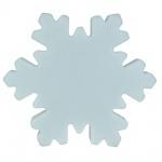Luminatos LED Schneeflocke 40 cm 16 Farben mit Fernbedienung wasserdicht