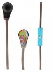 "BODINO Designer Headset für Smartphones / MP3 Player TAMARA NORRIS "" sunswirl"""