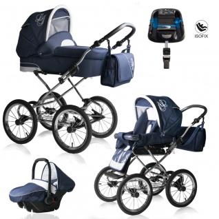Bebebi Loving | 4 in 1 Kombi Kinderwagen | ISOFIX Set