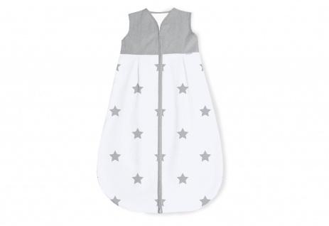 Schlafsack 'Sternchen', grau, Sommer, 90 cm  