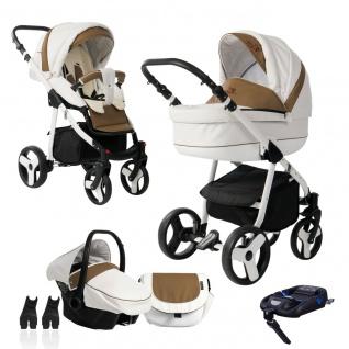 Bebebi Fizzy | ISOFIX Basis & Autositz | 4 in 1 Kombi Kinderwagen