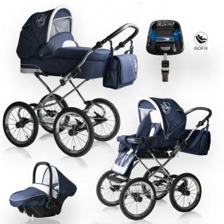 Bebebi Loving   4 in 1 Kombi Kinderwagen   ISOFIX Set