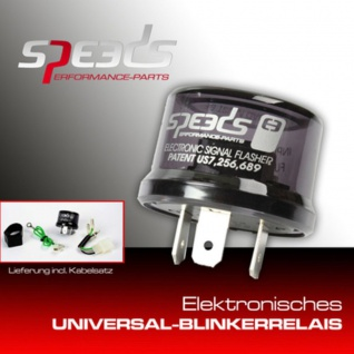 Speeds Universal Blinkerrelais LED
