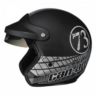 Original CAN AM BRP ST 2 Jet Helm retro schwarz