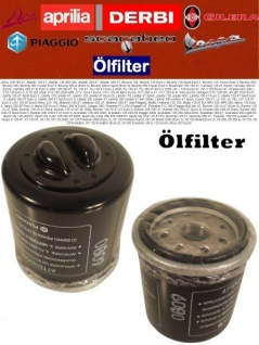 Original Ölfilter Piaggio MP3 125