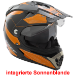 Büse Cross Helm ROCC 771 schwarz orange Crosshelm