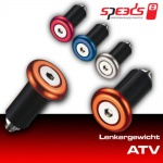 Speeds Lenkergewicht ATV orange Barends für Quad, ATV