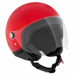 Piaggio Style D Jet Helm rot Gr. M