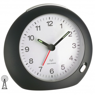 TFA Funk-Wecker Nachweckautomatik Zifferblattbeleuchtung