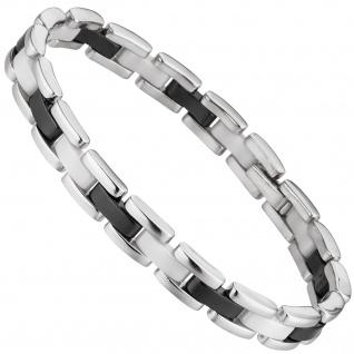 Armband 925 Sterling Silber mit Keramik 19 cm