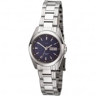 JOBO Damen Armbanduhr Quarz Analog Edelstahl Damenuhr mit Datum