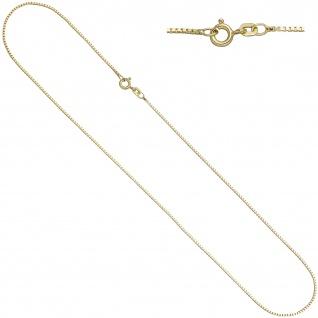 Venezianerkette 925 Sterling Silber gold vergoldet 0, 9 mm 50 cm Kette Halskette