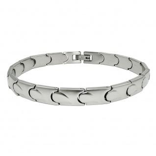 Armband 7, 7mm Glieder Damenarmband Edelstahl 20cm