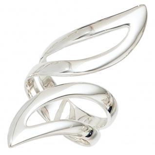 Damen Ring offen breit 925 Sterling Silber Silberring