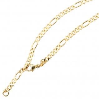 Fußkettchen Fußkette 333 Gold Gelbgold 25 cm Karabiner