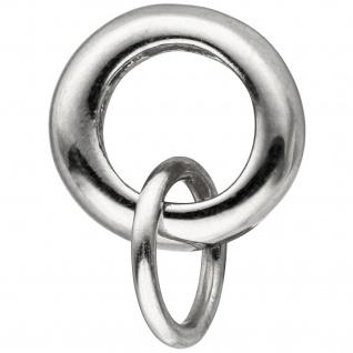 Anhänger Charmträger 925 Sterling Silber Silberanhänger für Charms
