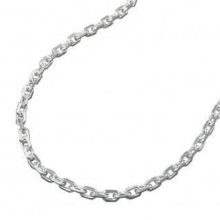 Kette 2mm Anker 8x diamantiert Silber 925 42cm