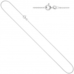 Ankerkette 925 Silber 1, 5 mm 50 cm Kette Halskette Silberkette Federring