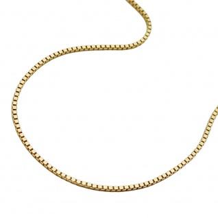 Kette 0, 7mm Venezianer-Kette 9Kt GOLD 42cm
