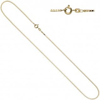 Venezianerkette 333 Gelbgold 1, 0 mm 45 cm Gold Kette Halskette Goldkette