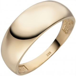 Damen Ring 333 Gold Gelbgold Goldring