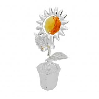 Tischdekoration 70mm Sonnenblume im Topf