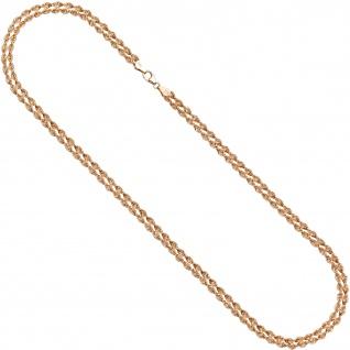 Halskette Kette 375 Gold Rotgold 45 cm Rotgoldkette Karabiner