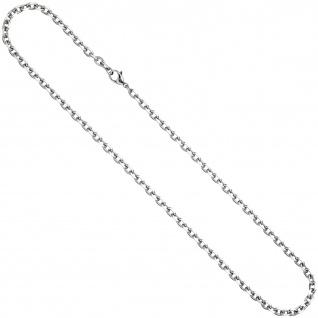 Ankerkette Edelstahl 4, 3 mm 50 cm Halskette Kette Karabiner - Vorschau 2