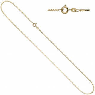 Venezianerkette 585 Gelbgold 1, 0 mm 50 cm Gold Kette Halskette Goldkette