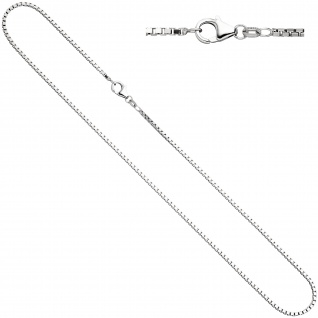 Venezianerkette 925 Silber 1, 8 mm 50 cm Halskette Kette Silberkette Karabiner