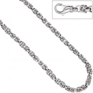 Halskette Kette 925 Sterling Silber 50 cm Silberkette Karabiner - Vorschau 2
