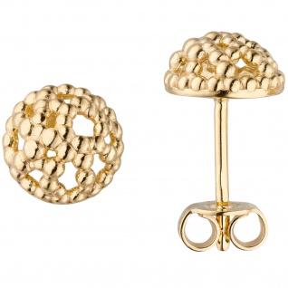 Ohrstecker 333 Gold Gelbgold Ohrringe
