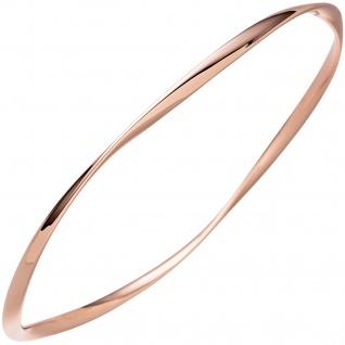 Armreif Armband 925 Sterling Silber rotgold vergoldet