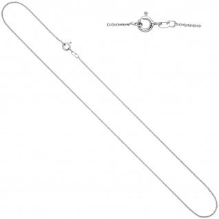 Ankerkette 925 Silber 1, 1 mm 40 cm Kette Halskette Silberkette Federring