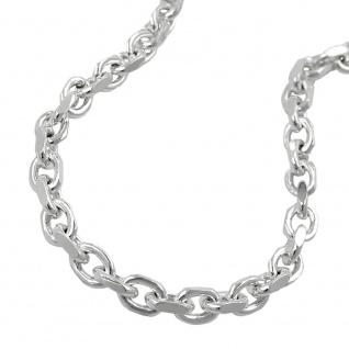 Armband 3, 5mm Ankerkette glänzend Silber 925 21cm