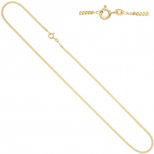 Panzerkette 585 Gelbgold 2, 1 mm 50 cm Gold Kette Halskette Goldkette Federring