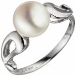 Damen Ring 925 Sterling Silber 1 SÃÃ wasser Perle