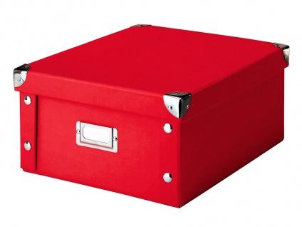 ZELLER Aufbewahrungsbox, Pappe, 14 cm hoch
