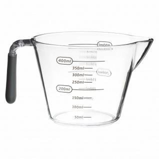 Behälter mit Ausguss und Messbecher für Zucker und ähnliches Mehl