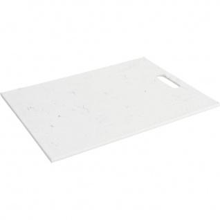 Schneidebrett aus Kunststoff, 40 x 30 cm, weiß