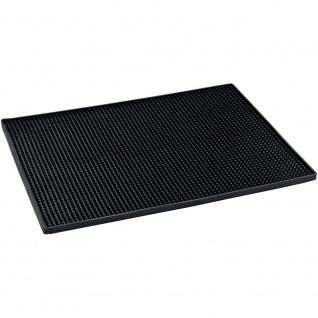 WENKO Abtropfmatte Maxi Trocken-Matte für Geschirr, 30 x 40 x 1 cm