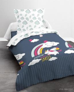 Bettwäsche-Set für Kinder, HAPPY LAHAUT, 140x200 cm, TODAY - Today