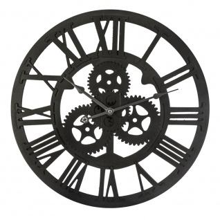 Wanduhr, runde Uhr, Wohnzimmeruhr, eine dekorative Uhr, Retro-Wanduhr
