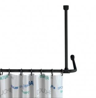Stützstange, Decke, 25 mm, Farbe Schwarz, Wenko