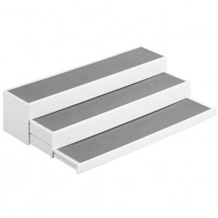 WENKO Küchenregal Steps 3-stufig ausziehbar