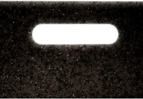 Schneidebrettset, Polypropylen, 2 Stück, schwarz - Vorschau 2