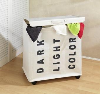 Wäschesammler Waschbehälter TRIVO BEIGE - bis 116 Liter, WENKO - Vorschau 5