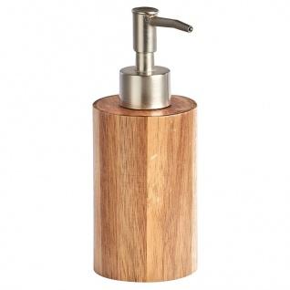 Seifenspender aus Akazienholz, ZELLER - ZELLER