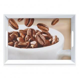 Zeller Melamintablett Coffee, ca. 50 x 35 x 5 cm