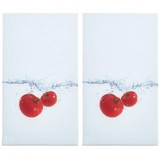 Glasschutzplatten Für Den Ofen Tomato Splash - 2 Stück, Zeller - Vorschau